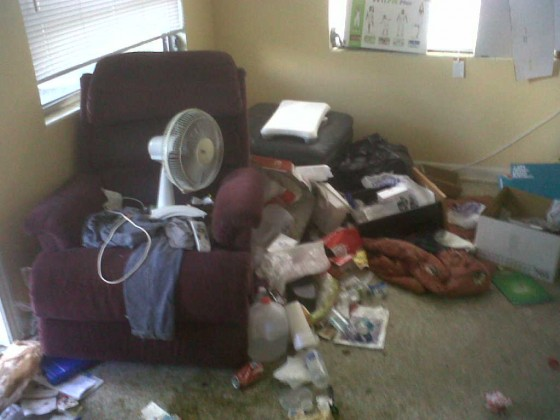 tenant trashes home