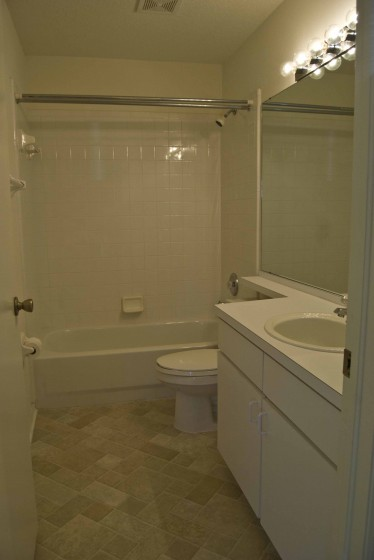 entry bath  small